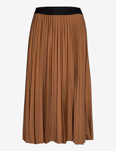 Skirts knitted - midinederdele - toffee