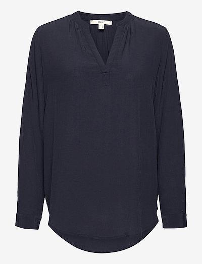 Blouses woven - langærmede bluser - navy