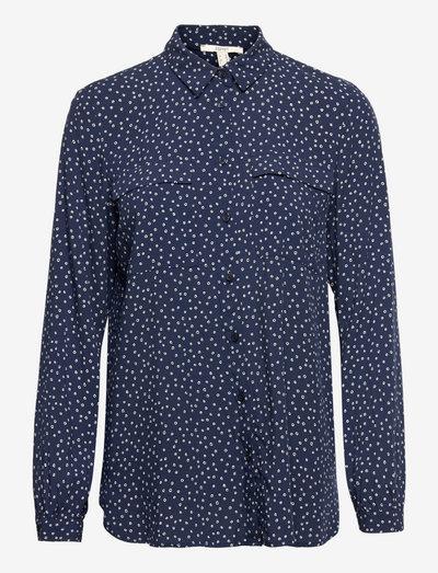 Blouses woven - langærmede skjorter - navy 4