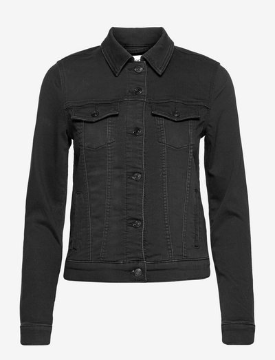 Jackets indoor denim - denimjakker - black dark wash