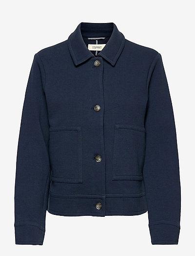 Jackets indoor woven - korte blazere - navy