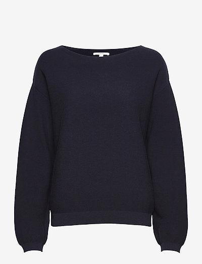 Sweaters - trøjer - navy