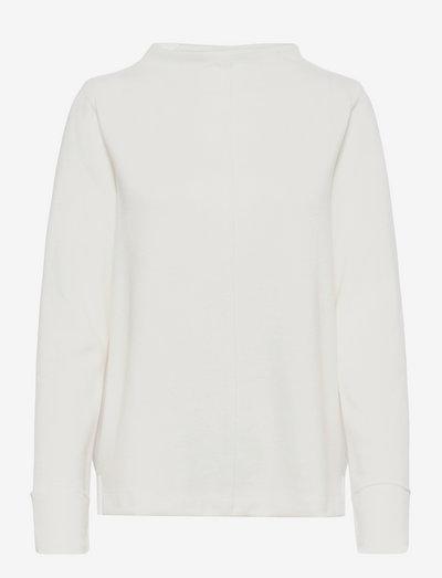 Sweatshirts - sweatshirts & hættetrøjer - off white