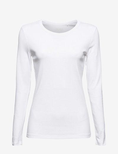 T-Shirts - langærmede toppe - white