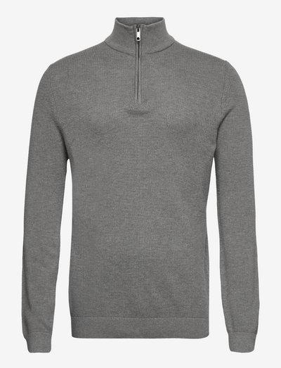 Sweaters - half zip-trøjer - medium grey 5