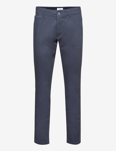 Pants woven - chinos - navy