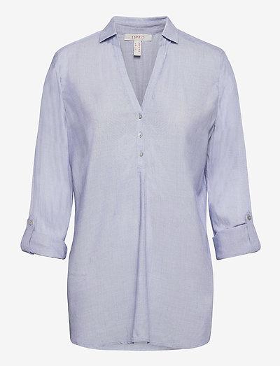 Blouses woven - langærmede skjorter - light blue