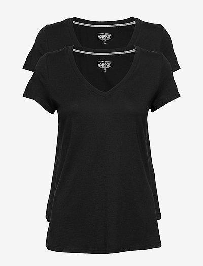 Mixed Sets - t-shirts - black