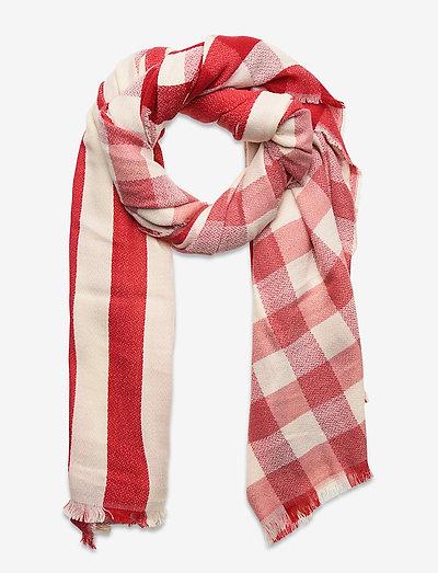 Shawls/Scarves - tynde tørklæder - red