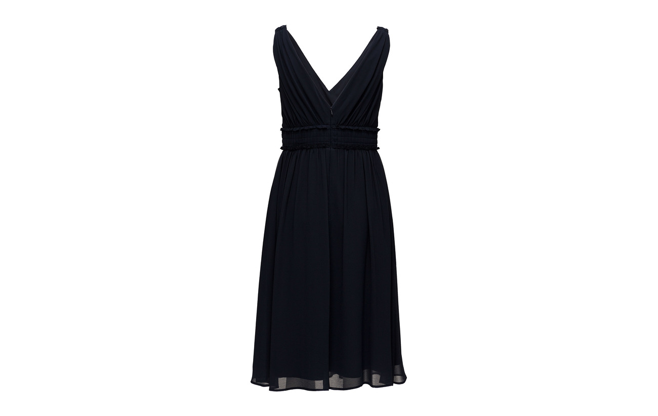 Woven 100 Collection Navy Polyester Esprit Light Dresses qdtPTWwX