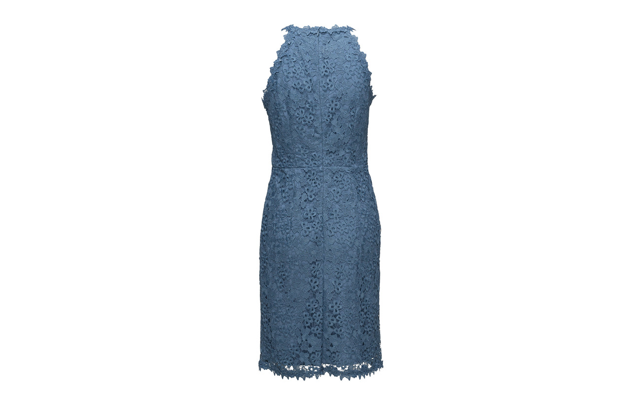 Navy Dresses Esprit Polyester Woven Collection Light 100 qRnxFIw5