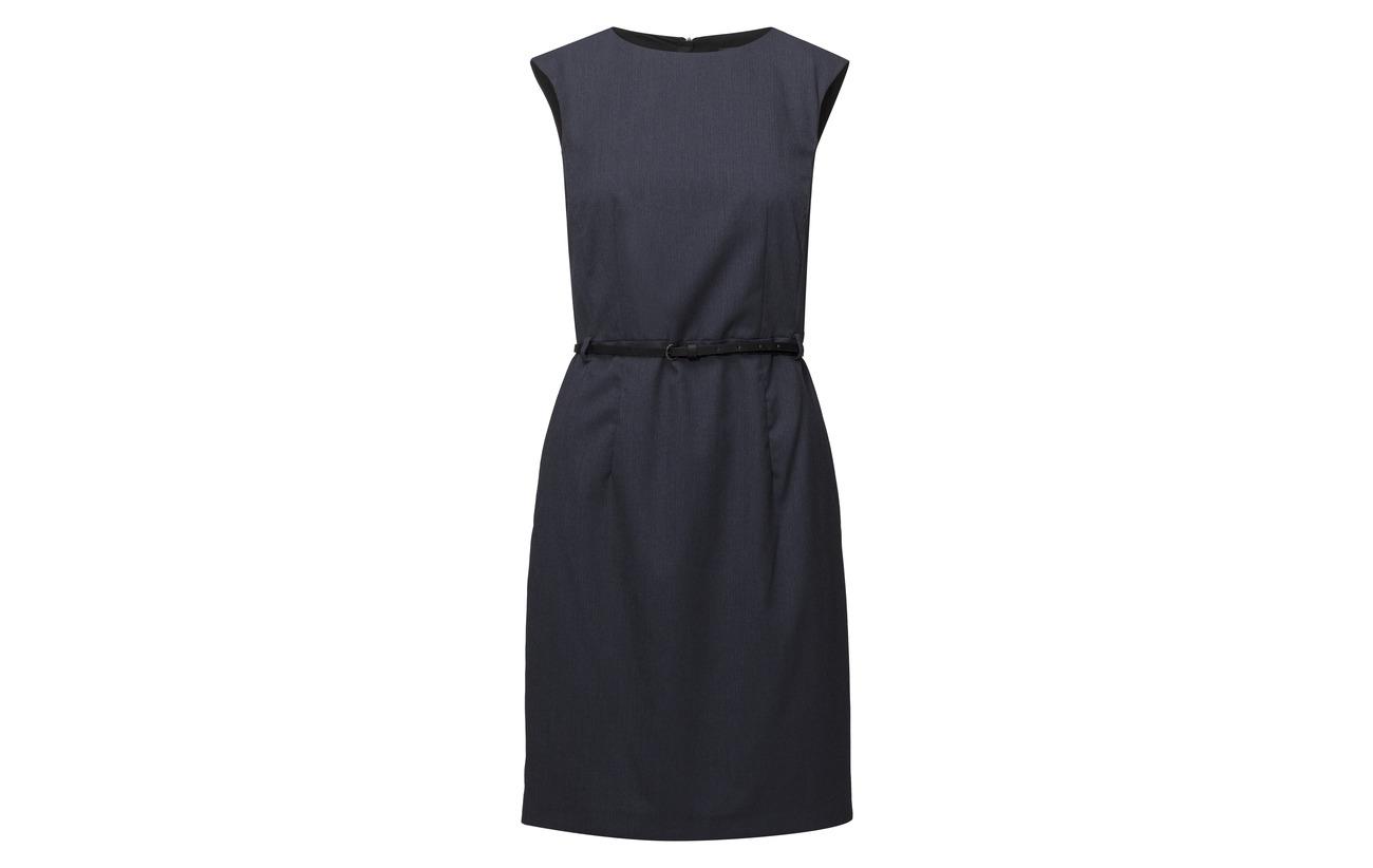 Collection Polyester 69 Viscose Dresses 2 Elastane 29 Navy Esprit Woven wX6FdXq