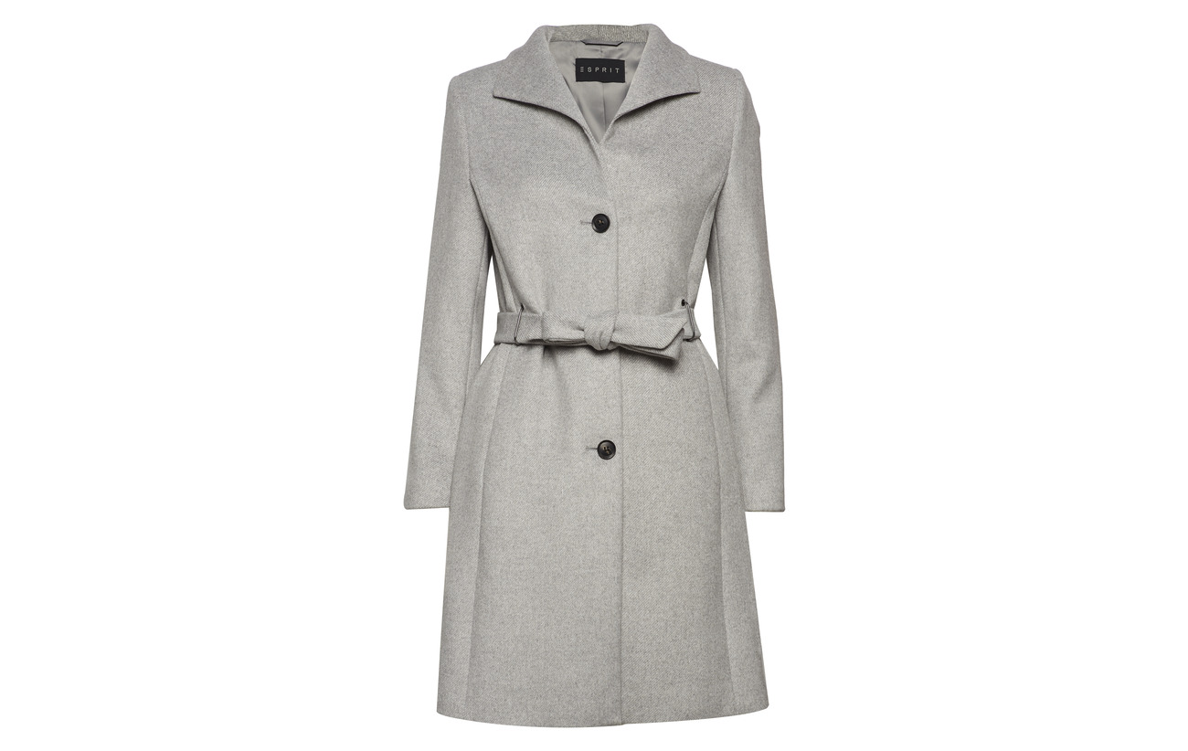 34 Grey Esprit Polyacrylonitrile 5 6 Coats Collection Viscose Light 56 Laine Polyamide Polyester Woven 2 rIwF8qI