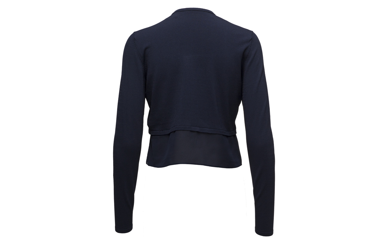 Sweaters Collection Viscose 63 37 Navy Esprit Polyester Cardigan 1wa6zqAxU