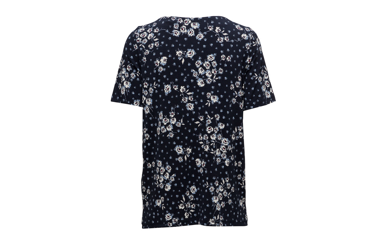 T Elastane 95 Navy Esprit Collection 5 Polyester shirts 5q40cpRwx