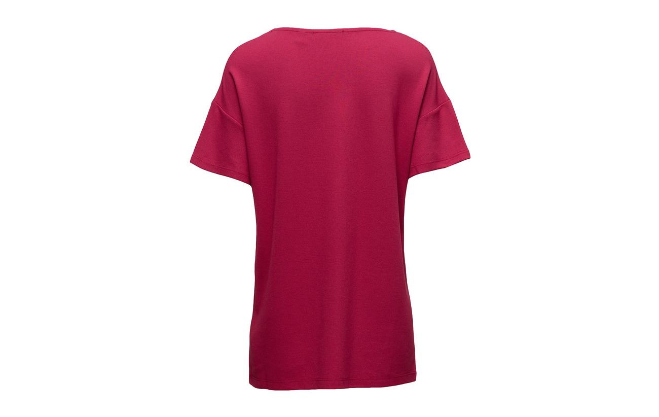 Viscose 67 T shirts Esprit Navy 3 Collection Polyester 30 Elastane RqIwaBXU