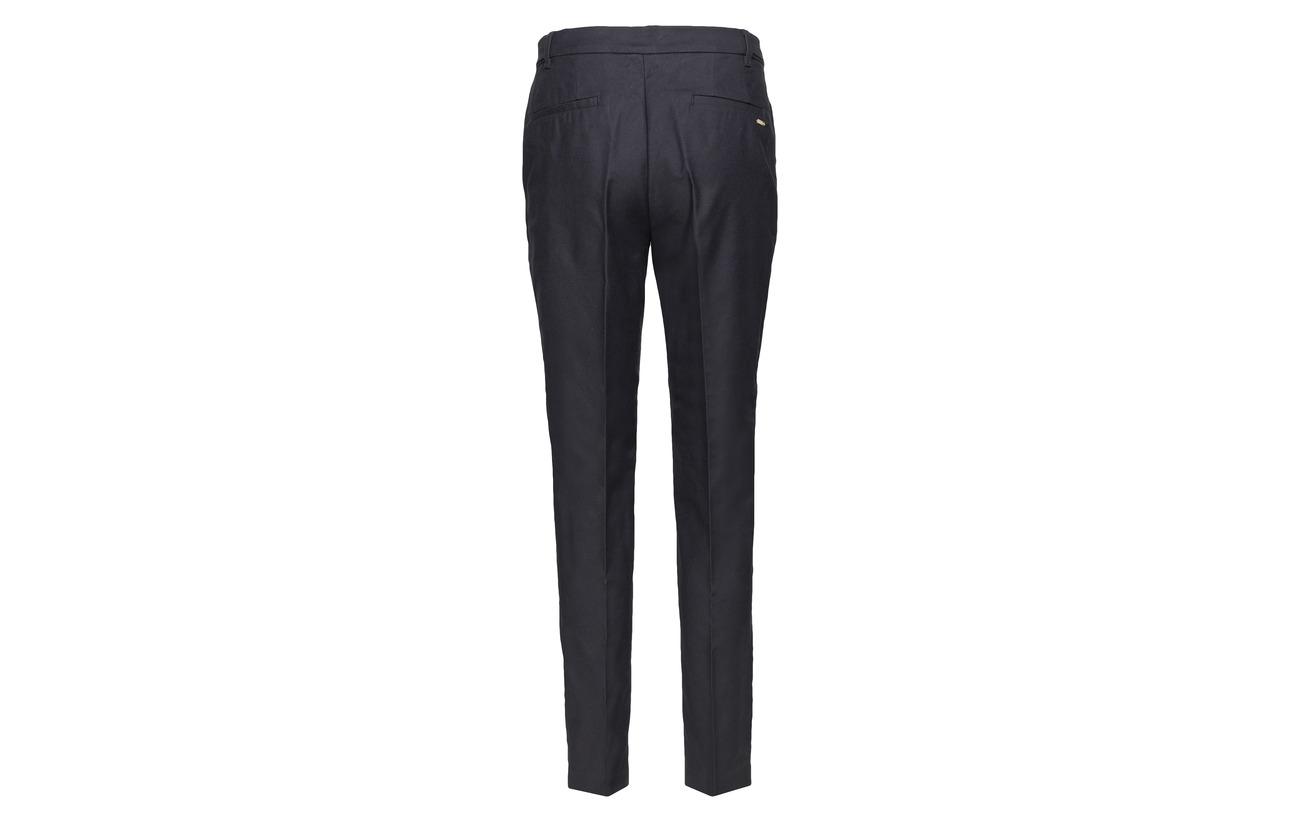 Lyocell Navy Elastane 74 Collection Coton Pants Woven 4 22 Esprit Aw1xqR0t4