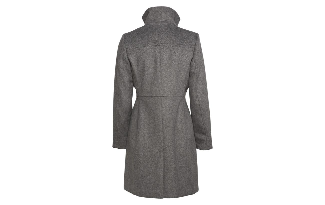 Woven Coats Laine Polyester Fabrics 58 4 Esprit Other Collection Gunmetal Polyacrylonitrile 33 5 5 SR58Eqw