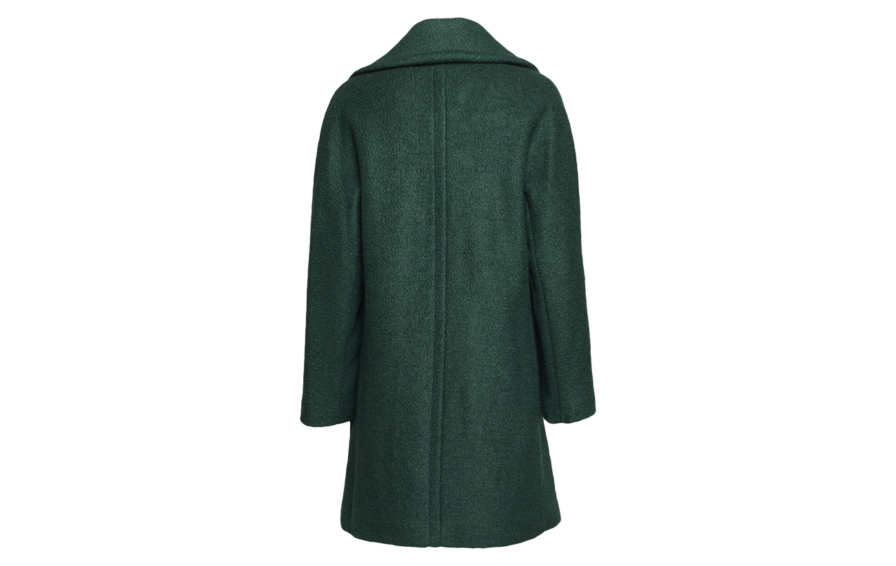 Esprit Collection Green Polyester Laine 42 58 Coats Teal Woven Dark rrdqg
