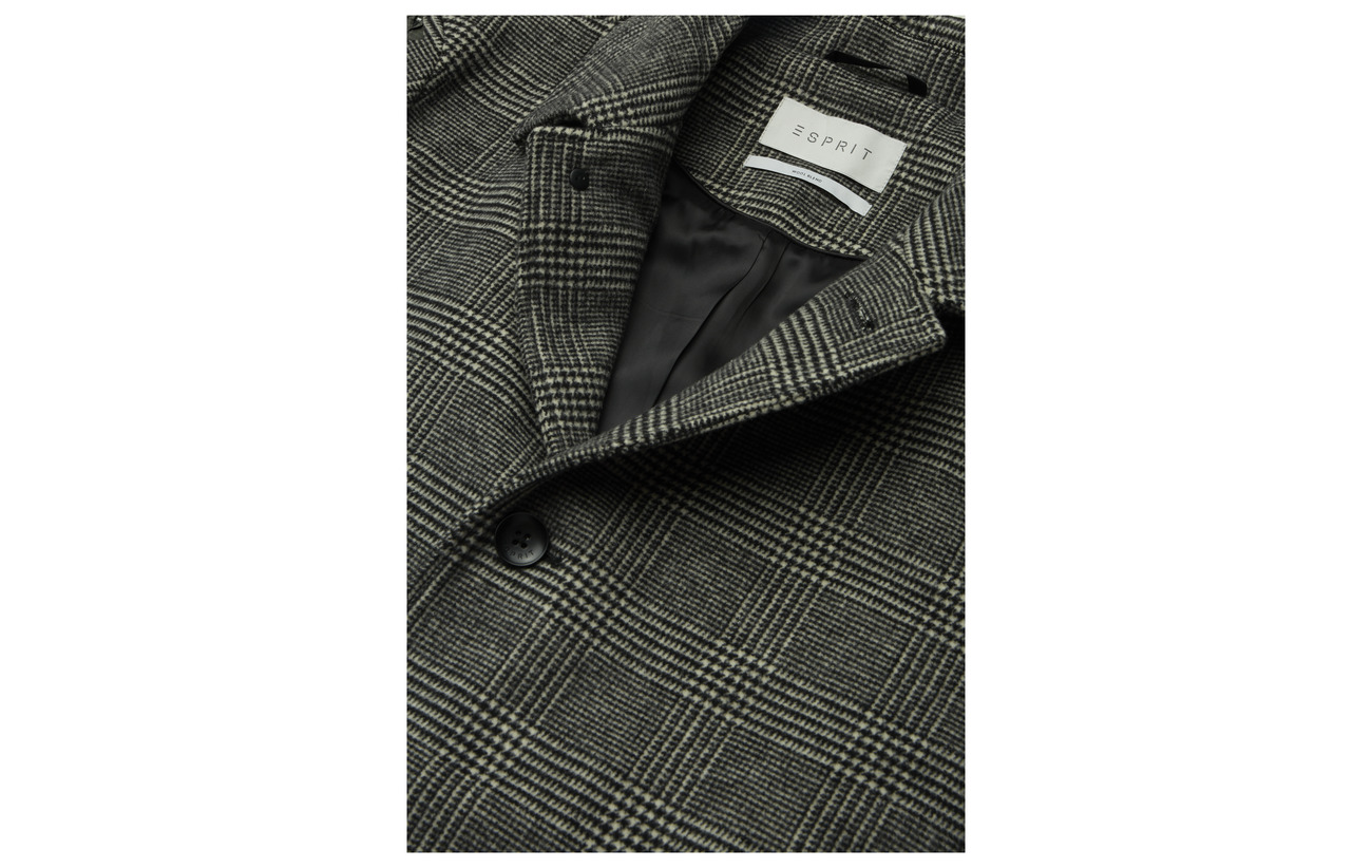 Collection Grey Coats Woven Grey Esprit Coats Esprit Collection Esprit Woven xxBStq