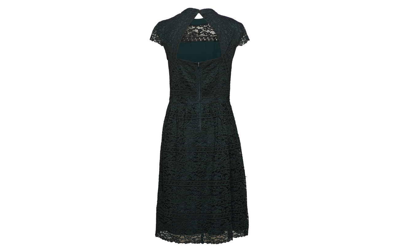 Esprit Light Viscose Dark Woven Polyamide 45 40 Teal Collection Dresses 15 Coton Green rqx4WHArn