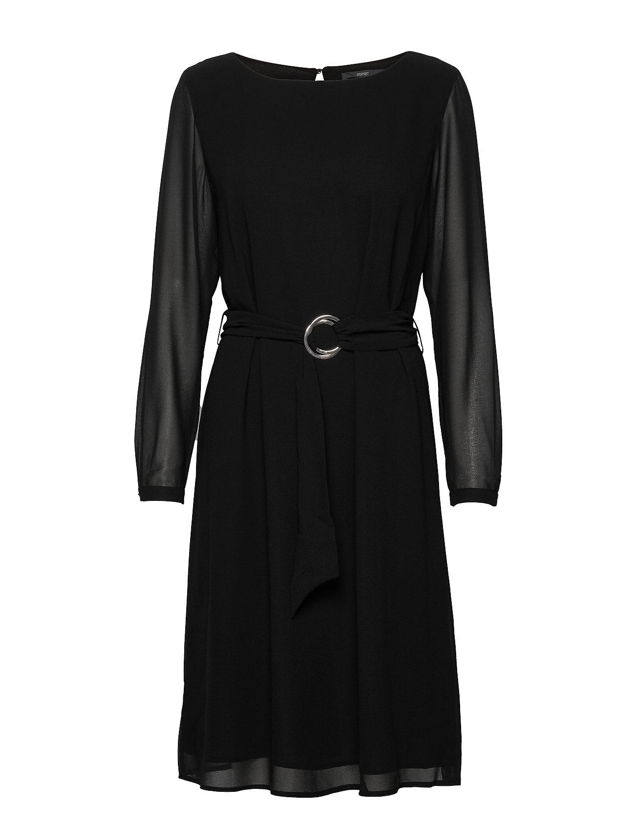 Esprit Collection Dresses light woven - BLACK