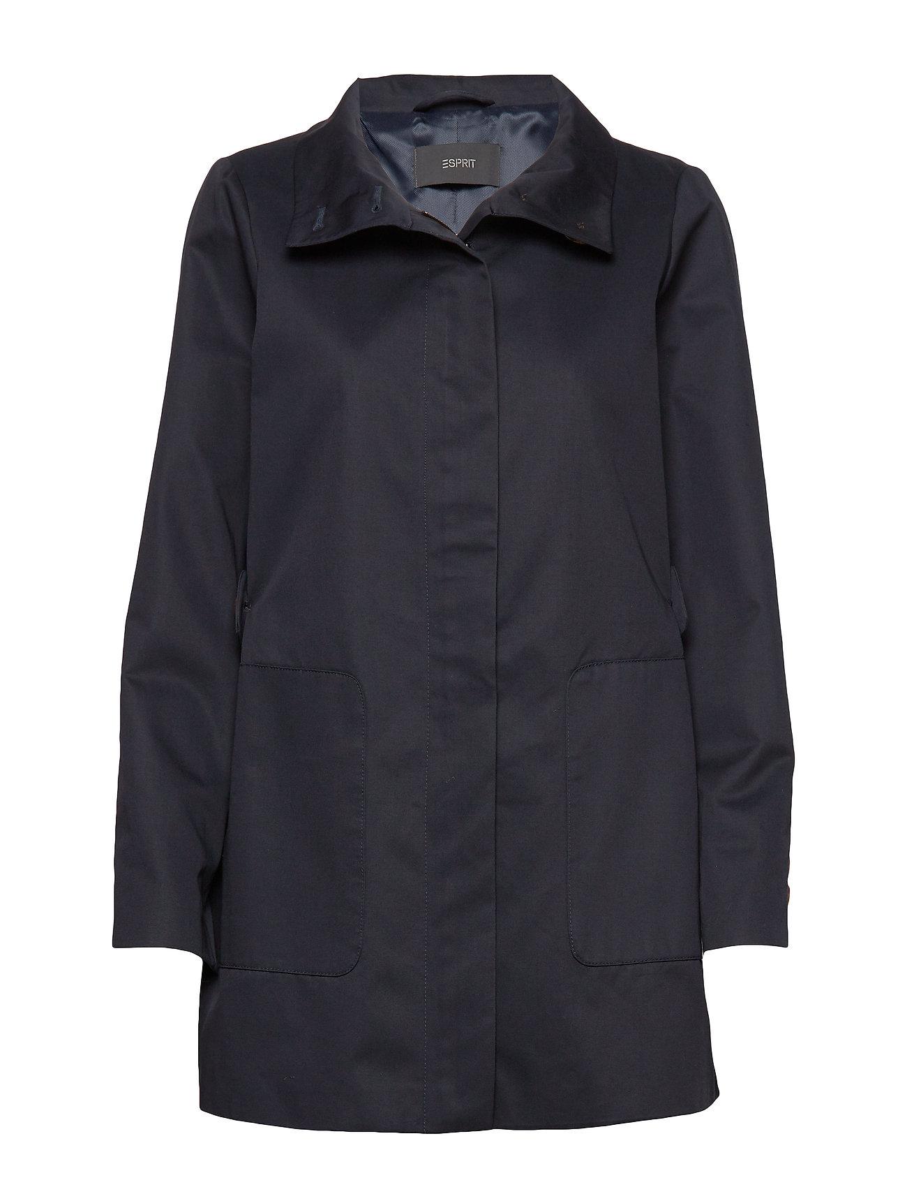 Esprit Collection Coats woven - NAVY