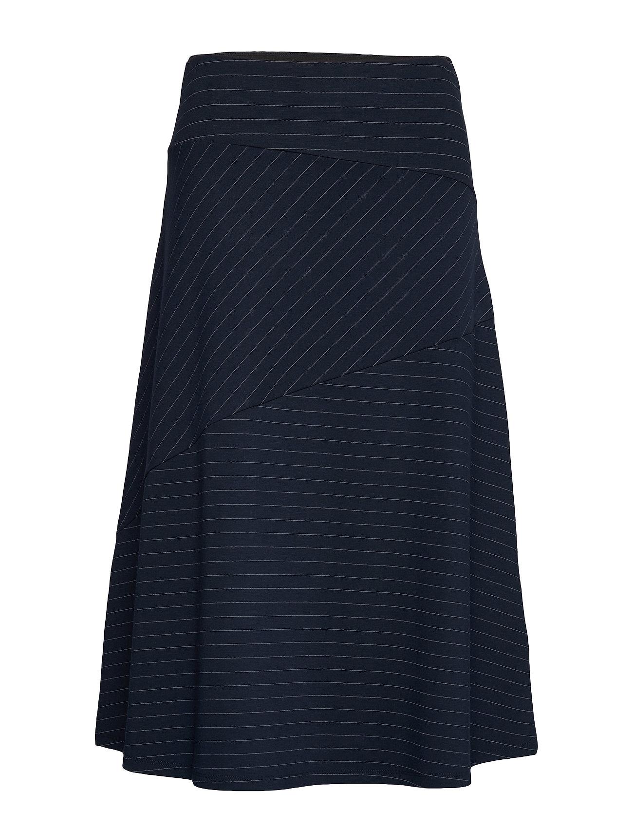 Image of Skirts Knitted Knælang Nederdel Blå Esprit Collection (3350045553)