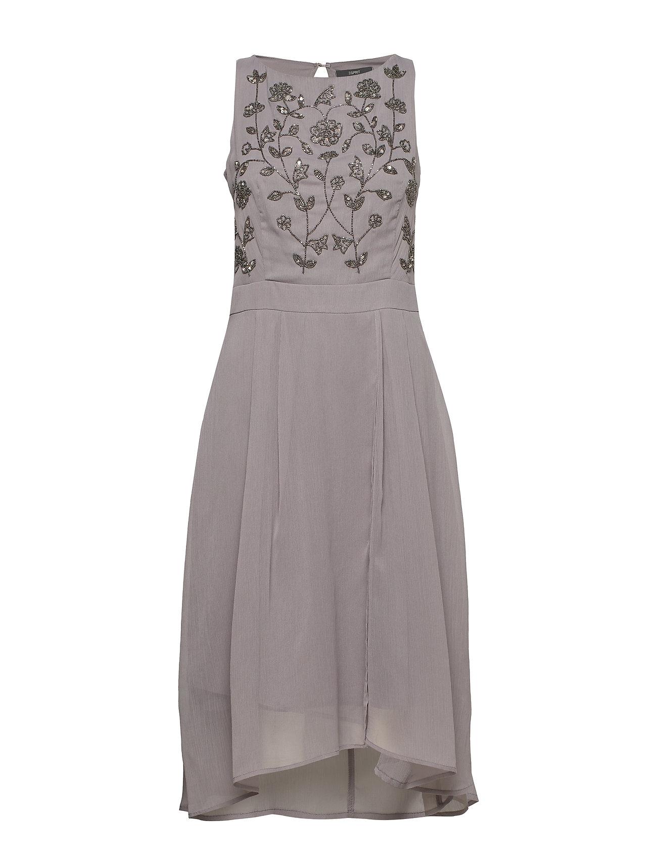 Esprit Collection Dresses light woven - GREY