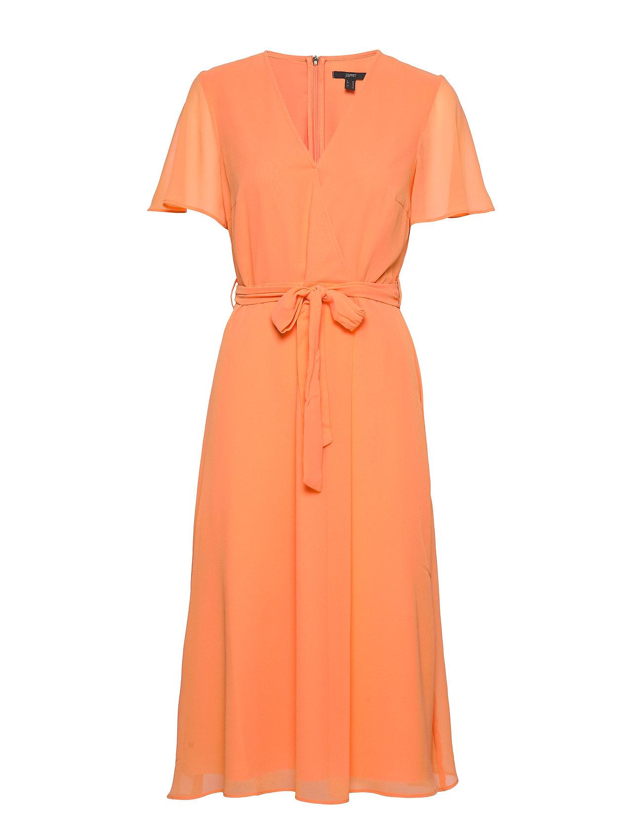 Esprit Collection Dresses light woven - ORANGE