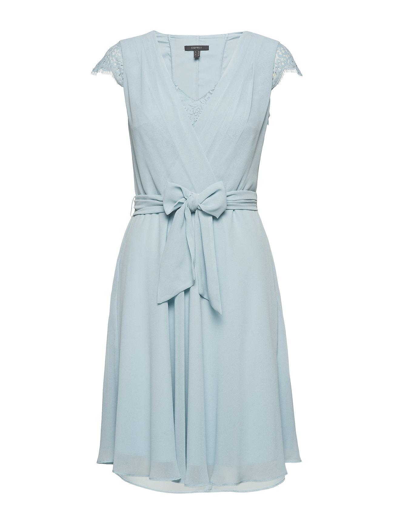 1cd48a5b5646 Esprit korte kjoler – Dresses Light Woven til dame i Blå - Pashion.dk