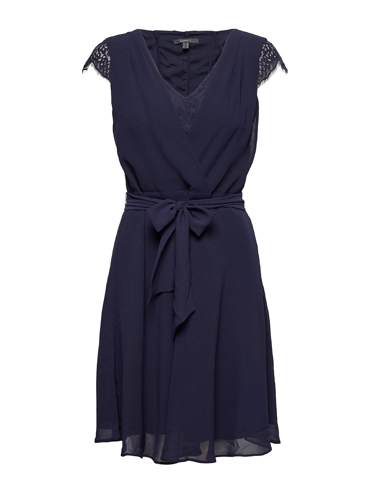 5520b2d0d1b Dresses Light Woven korte kjoler fra Esprit til dame i Blå - Pashion.dk