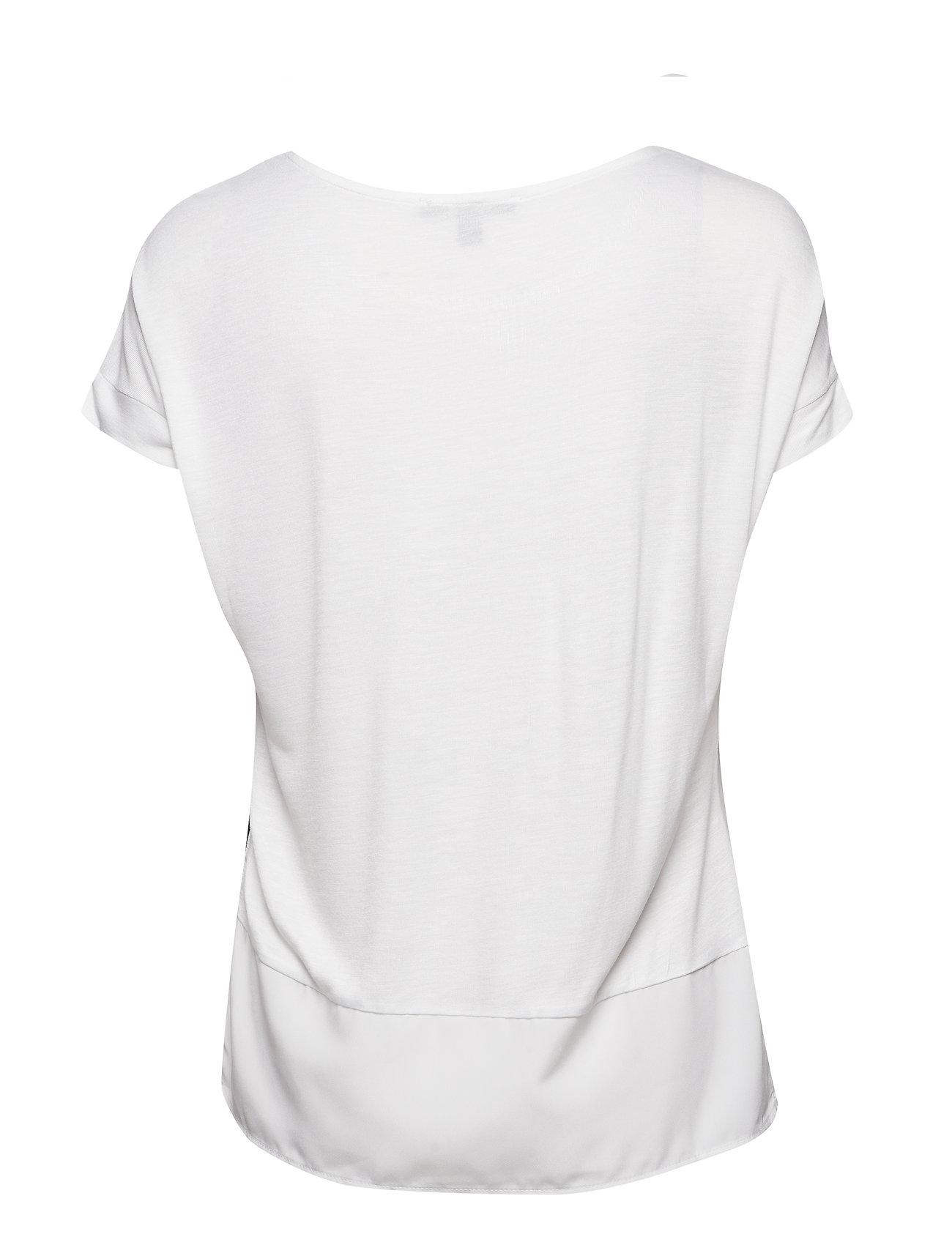 T Shirts T shirt Top Hvid ESPRIT COLLECTION