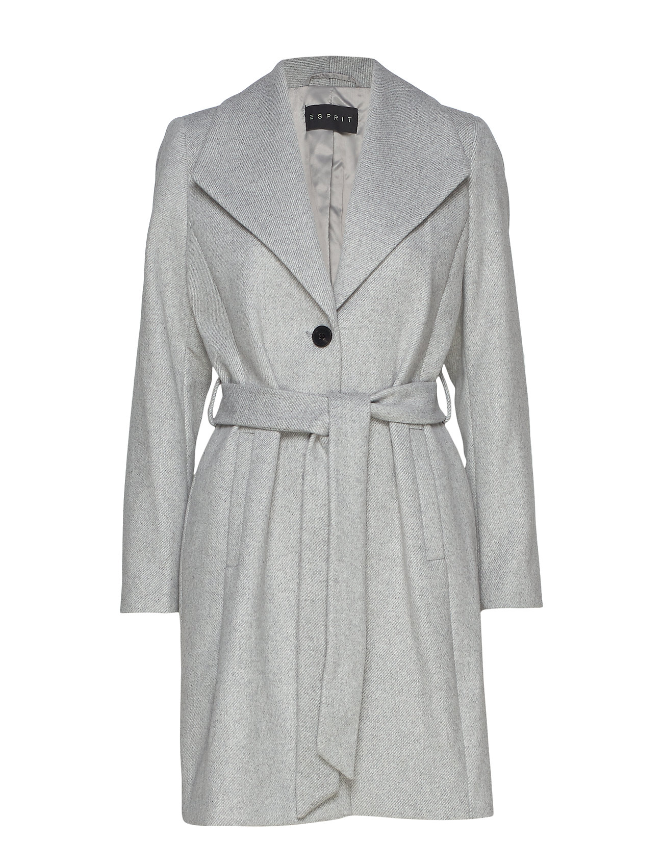 Esprit Collection Coats woven - LIGHT GREY 5