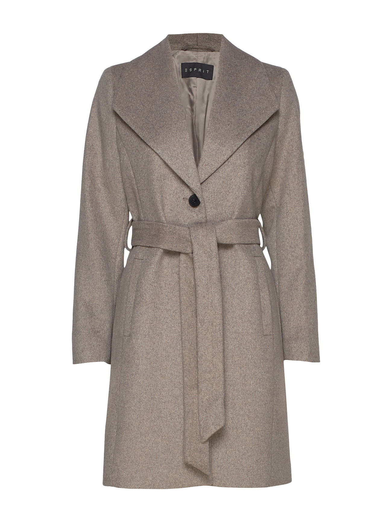 Esprit Collection Coats woven - LIGHT TAUPE 5