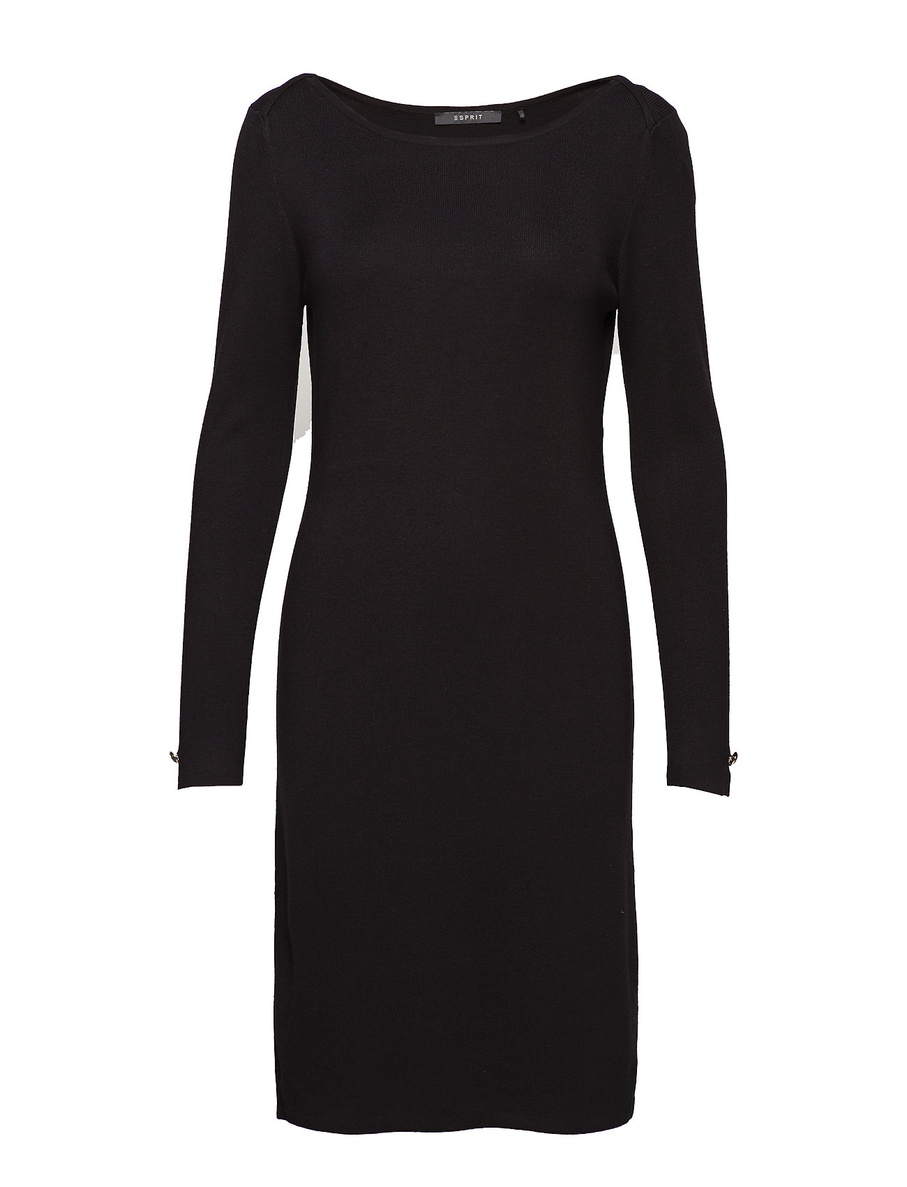 Esprit Collection Dresses flat knitted - BLACK