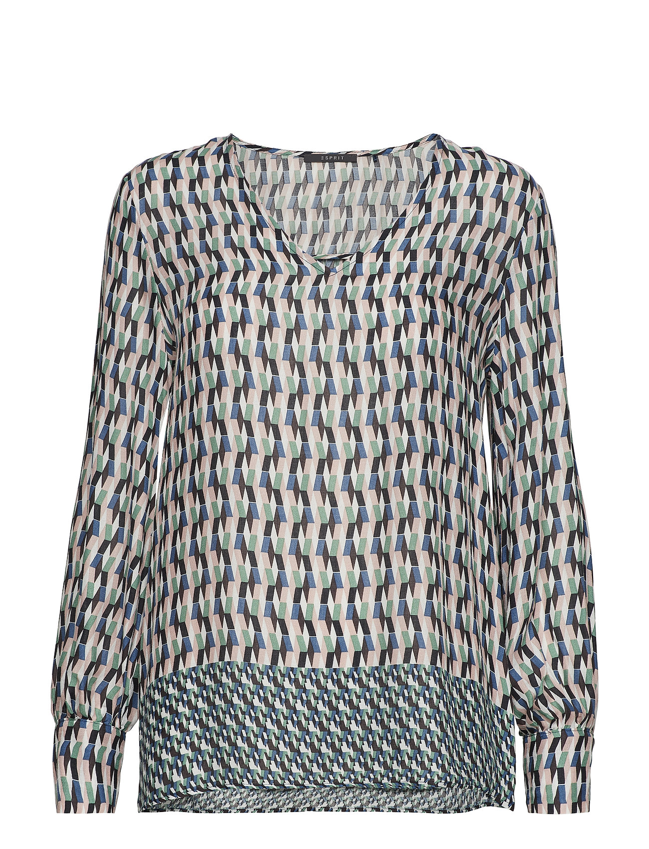 Esprit Collection Blouses woven - DUSTY GREEN
