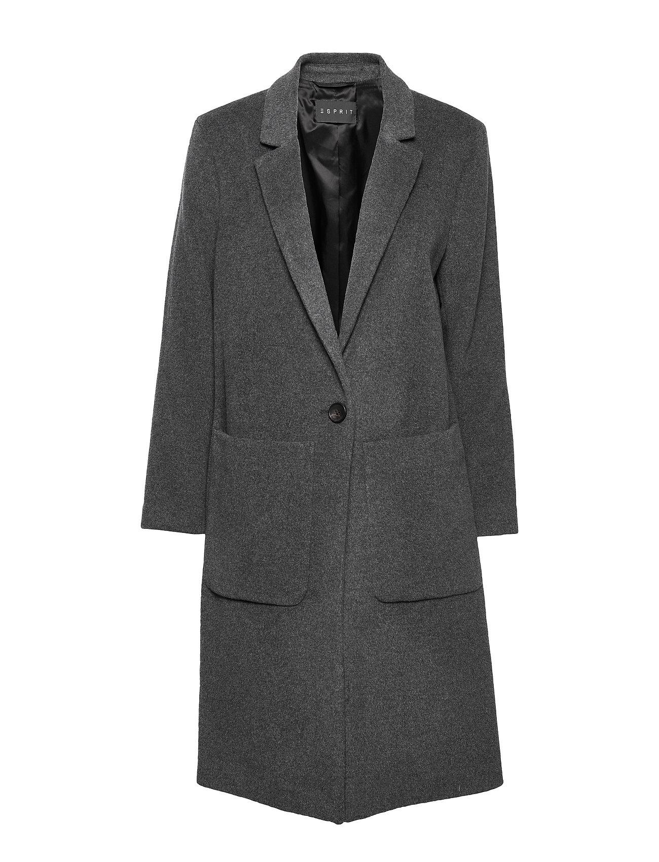 Esprit Collection Coats woven - GUNMETAL 5