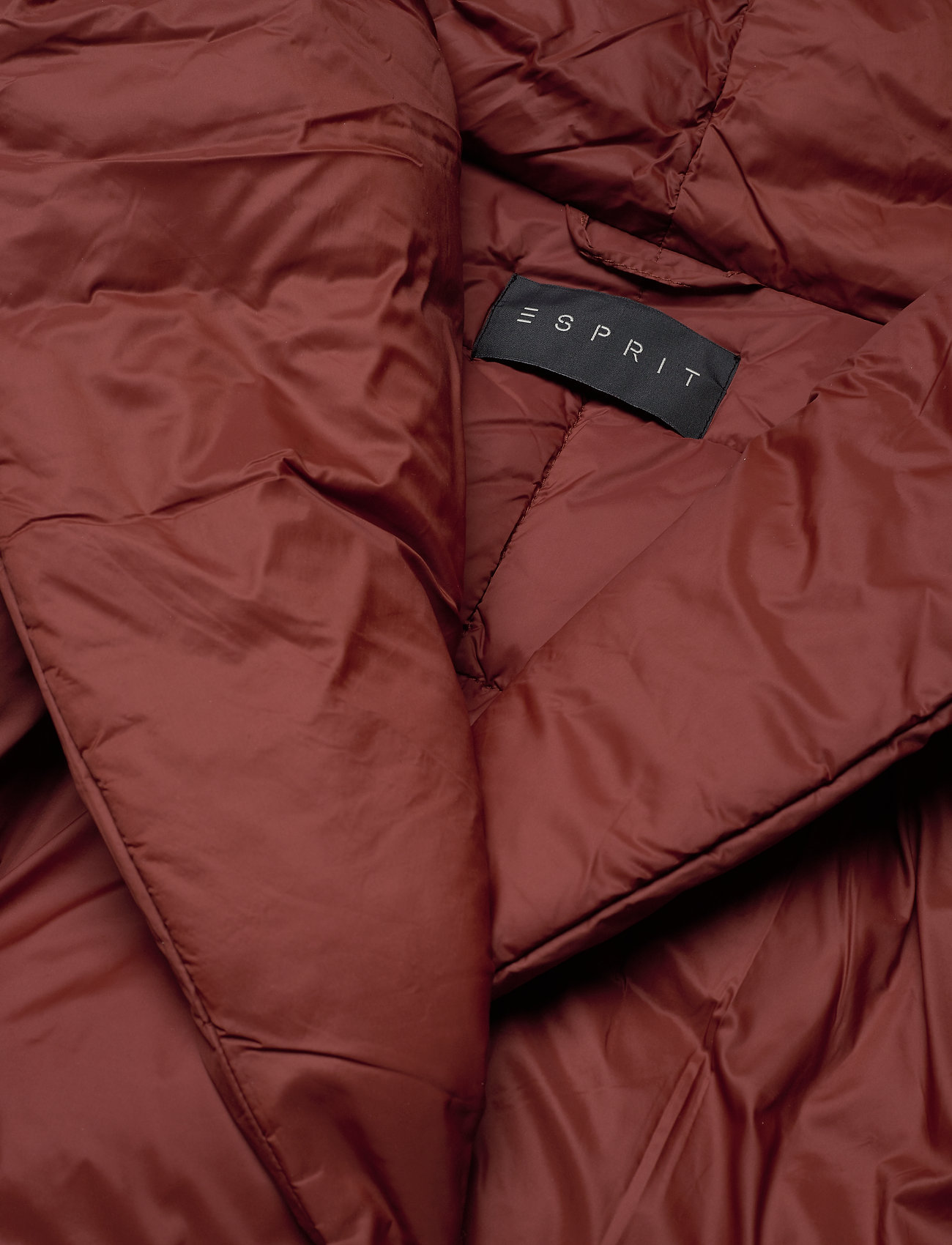 35Sale Woven Jackets ESPRIT Outdoor Rot Gefütterte Jacke kZXOiPuT