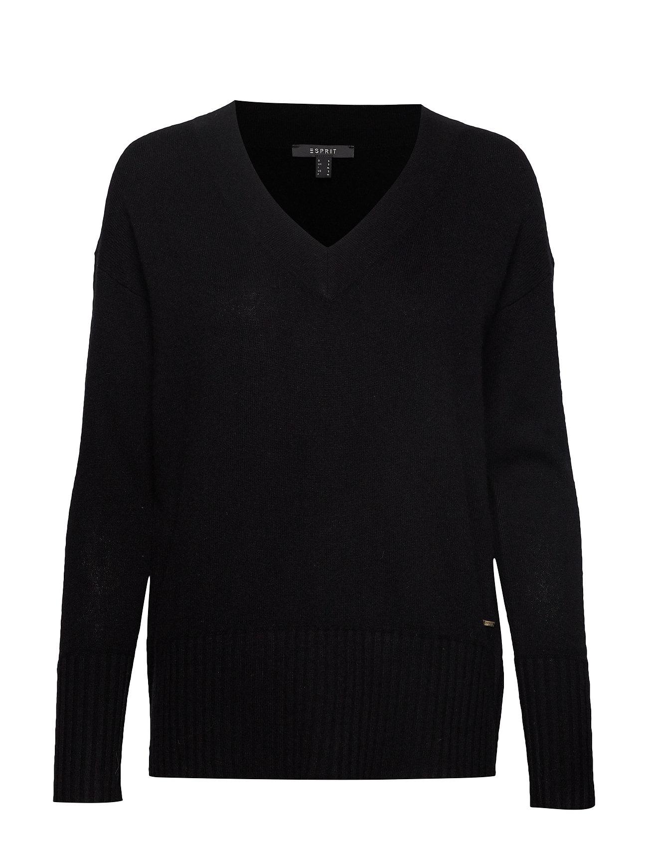 ESPRIT Sweaters Strickpullover Schwarz ESPRIT COLLECTION