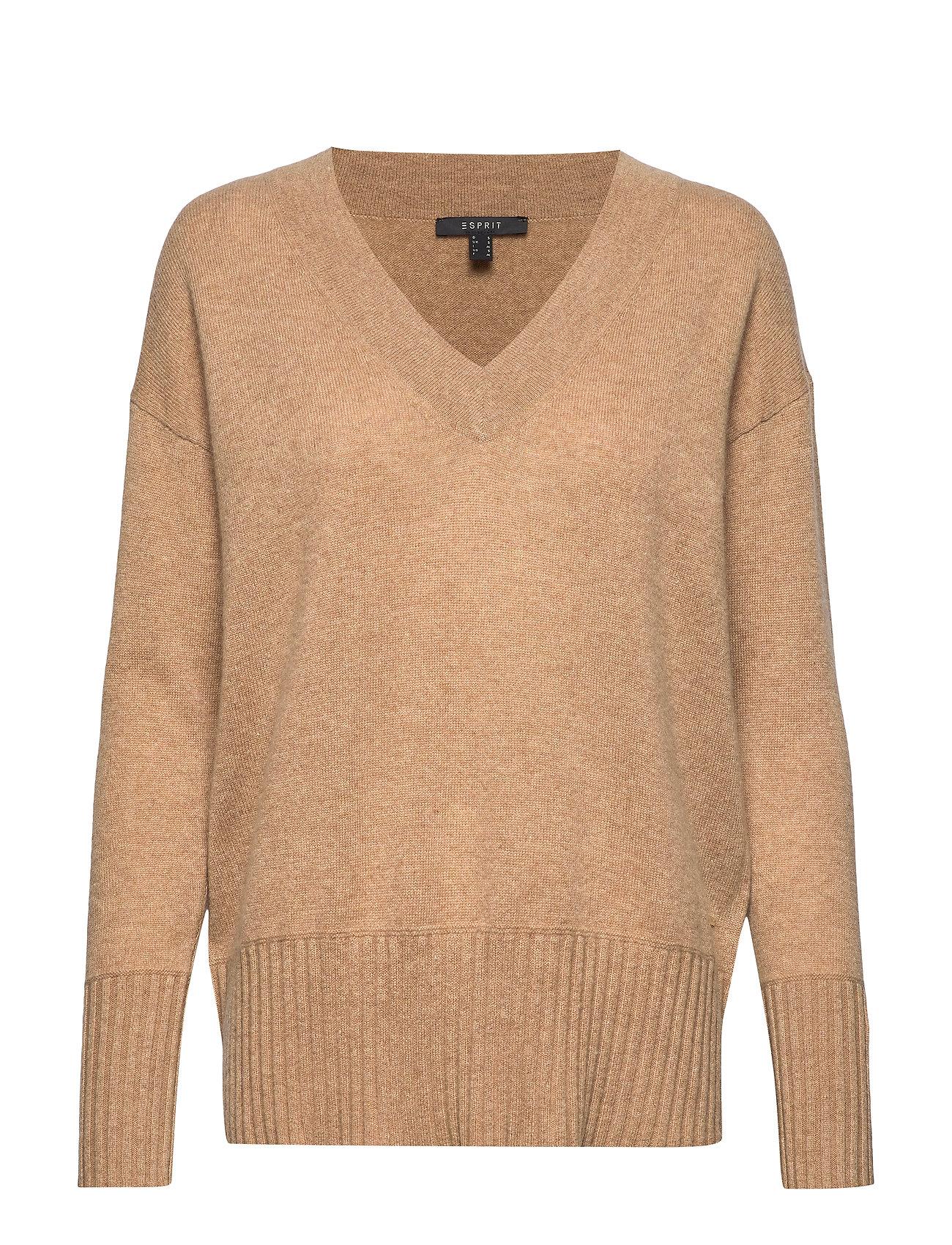 ESPRIT Sweaters Strickpullover Beige ESPRIT COLLECTION