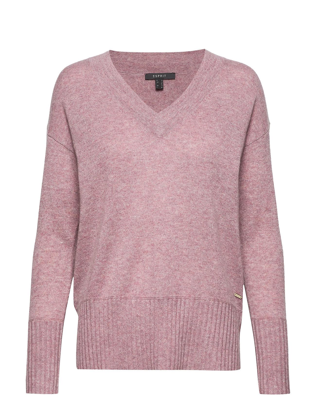 ESPRIT Sweaters Strickpullover Pink ESPRIT COLLECTION