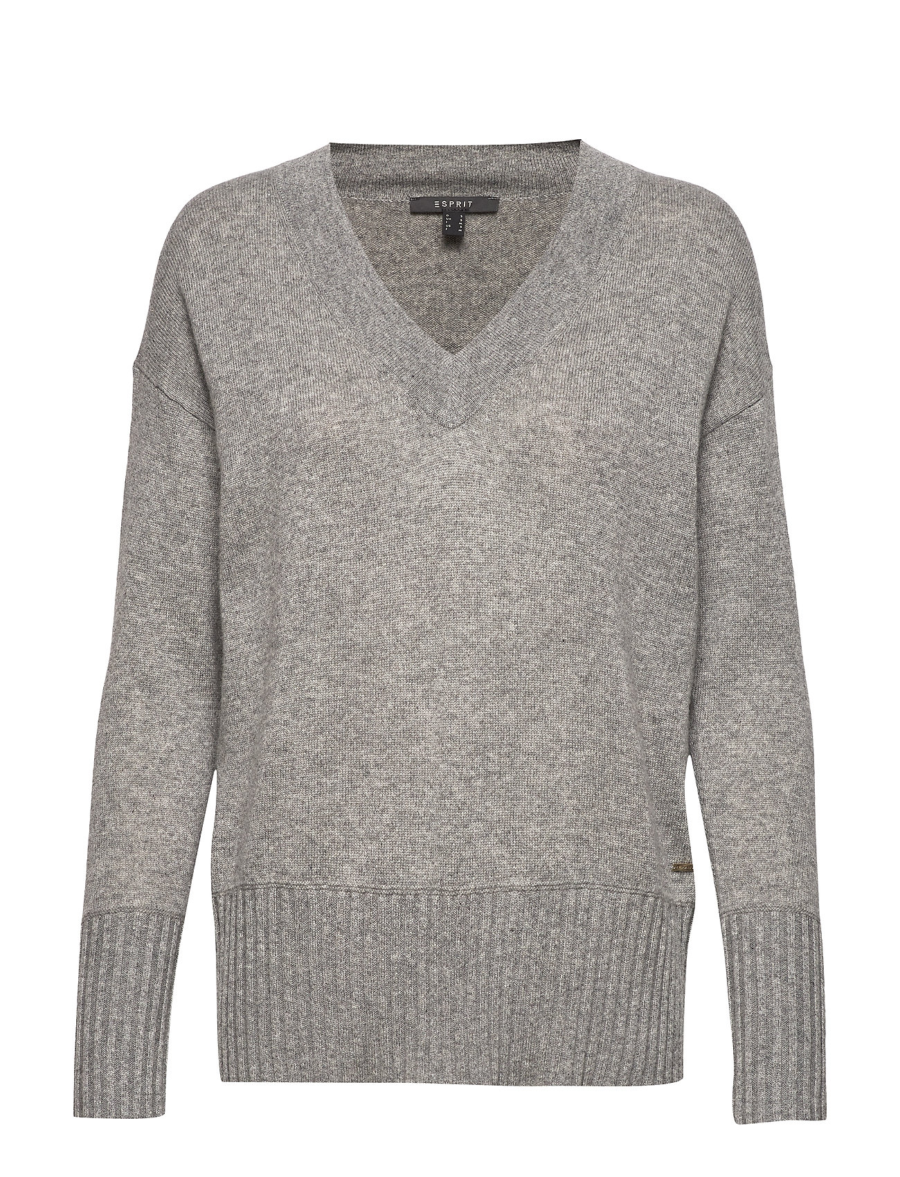 ESPRIT Sweaters Strickpullover Grau ESPRIT COLLECTION