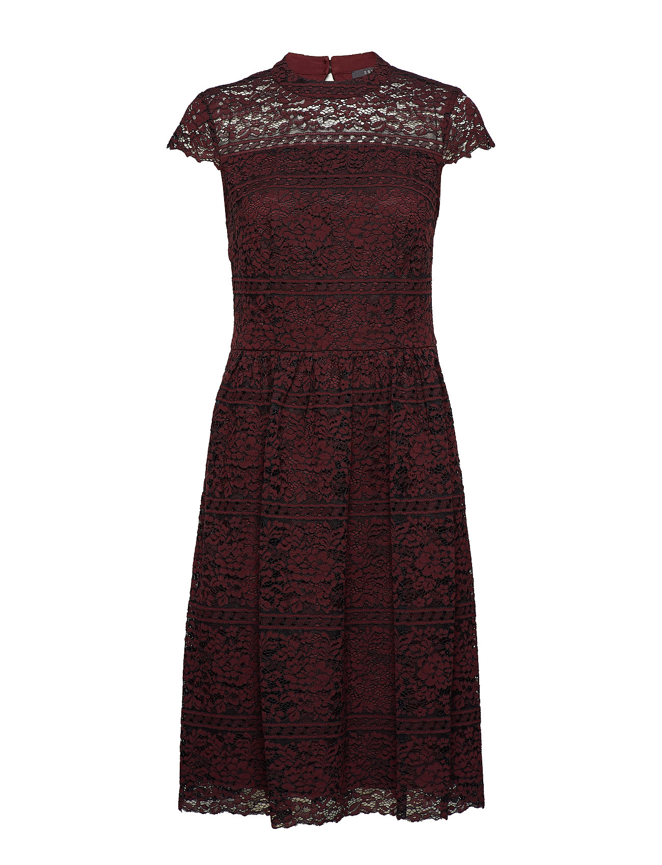 Esprit Collection Dresses light woven - BORDEAUX RED