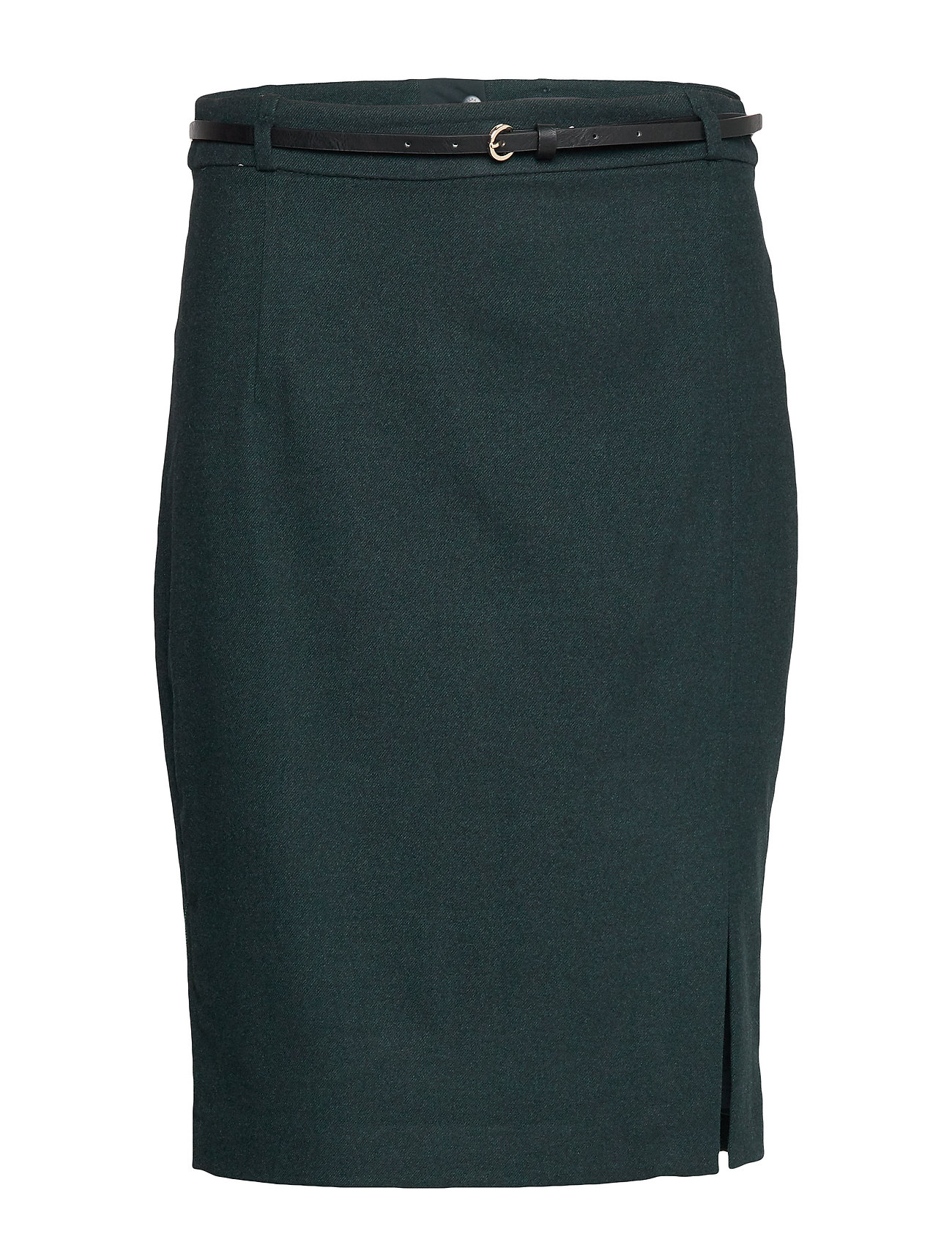 Esprit Collection Skirts woven - DARK TEAL GREEN