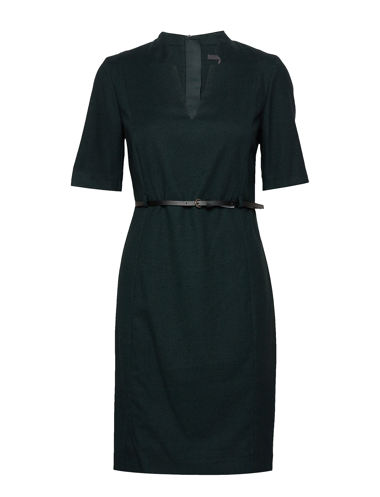 Esprit Collection Dresses woven - DARK TEAL GREEN