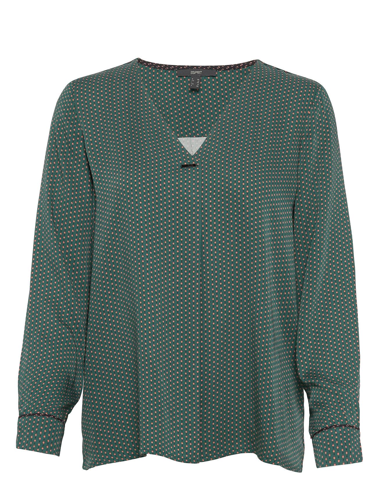 Esprit Collection Blouses woven - BOTTLE GREEN 4