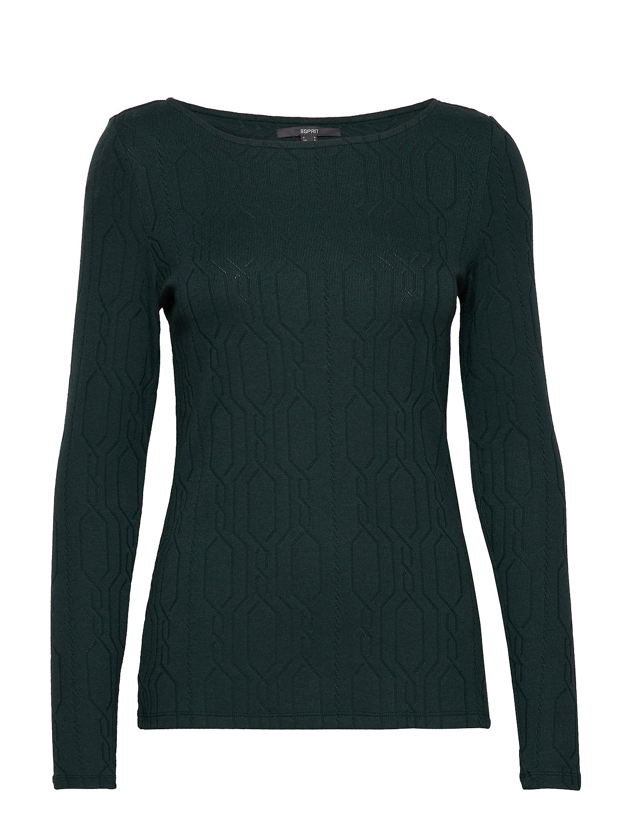 Esprit Collection T-Shirts - DARK TEAL GREEN