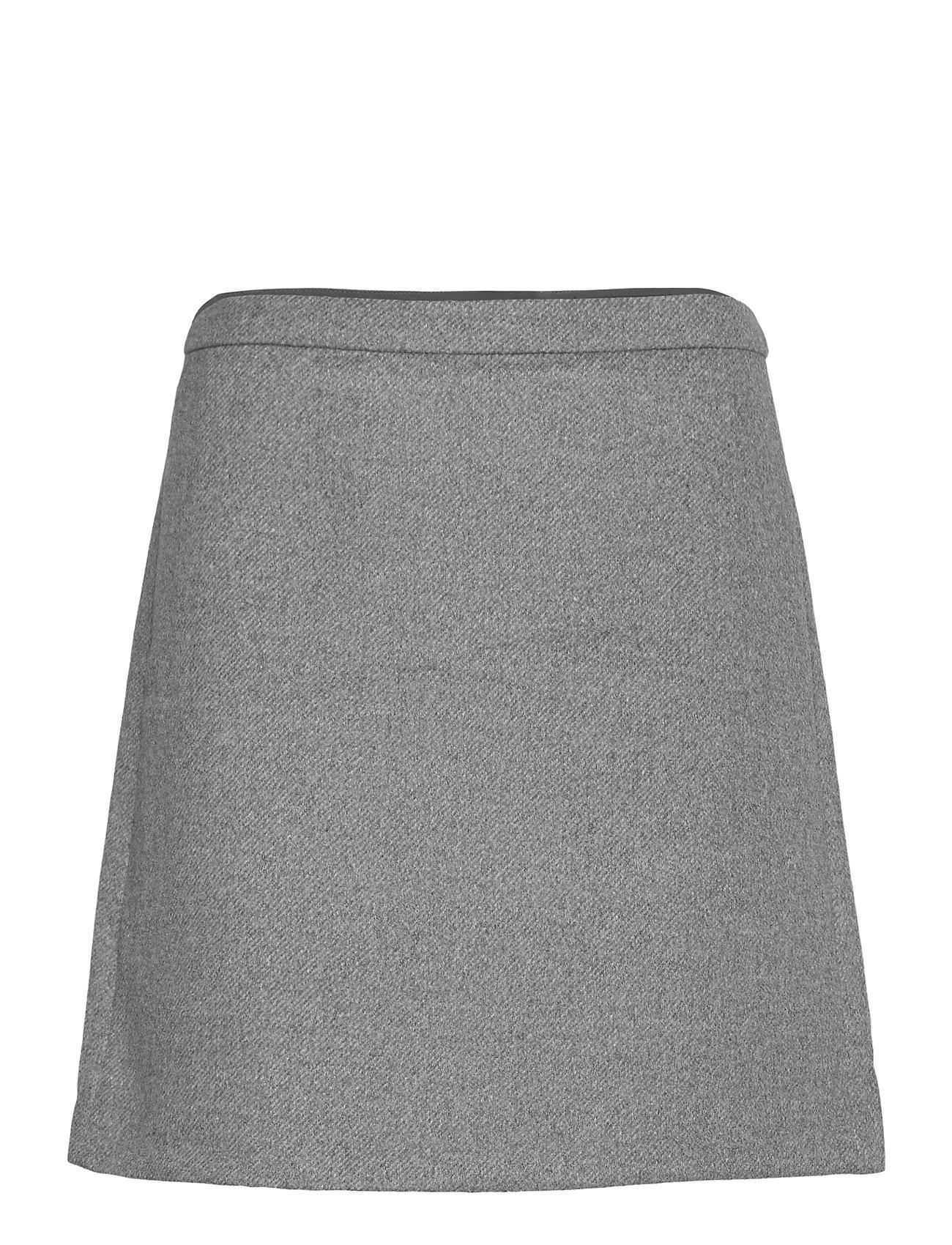 Image of Skirts Woven Kort Nederdel Grå Esprit Collection (3452218401)