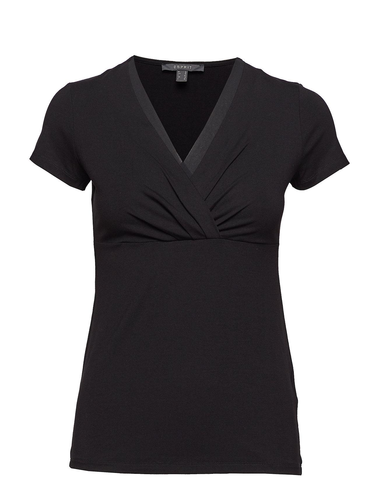 Esprit Collection T-Shirts - BLACK